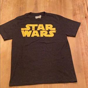 Old Navy Star Wars T-shirt in Heather Black